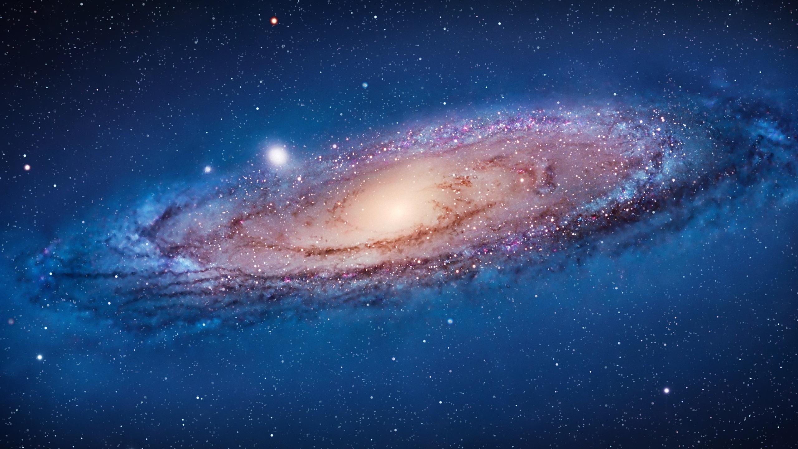 アンドロメダ銀河 デスクトップの壁紙 2560x1440 壁紙をダウンロード Ja Hdwall365 Com