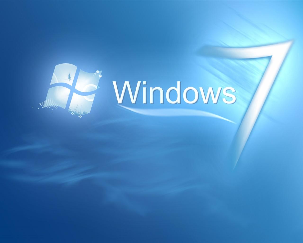 青い水の中のwindows7 デスクトップの壁紙 1280x1024 壁紙をダウンロード Ja Hdwall365 Com