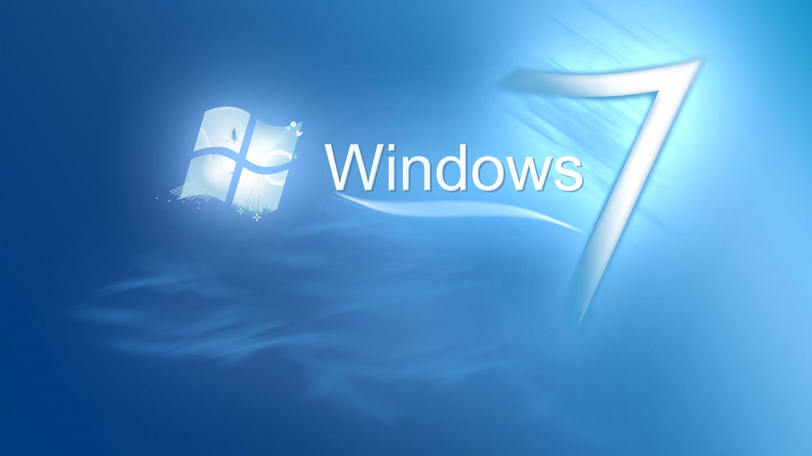 青い水の中のwindows7 デスクトップの壁紙 1600x900 壁紙をダウンロード Ja Hdwall365 Com