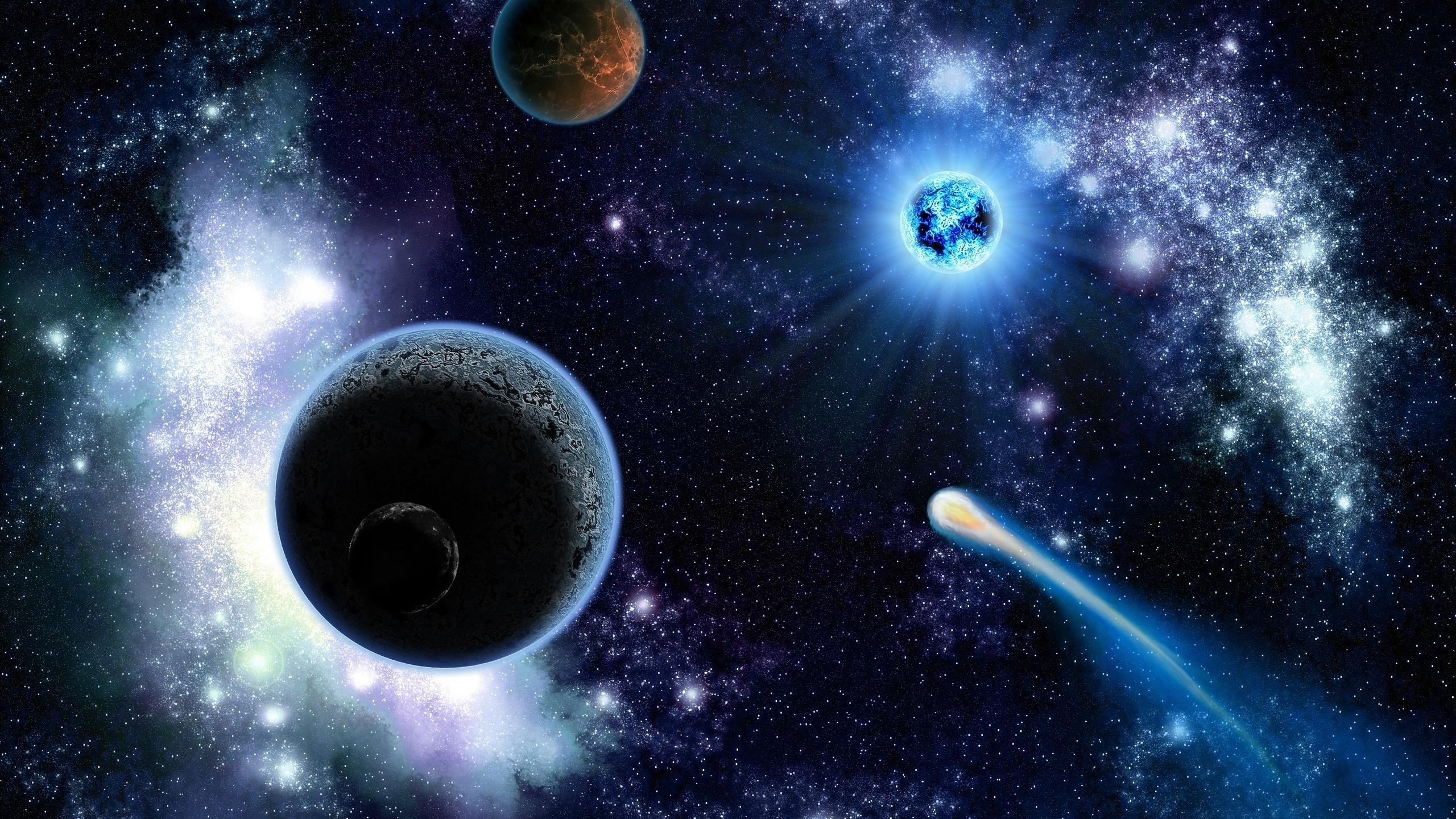 宇宙の惑星 星 デスクトップの壁紙 2560x1440 壁紙をダウンロード Ja Hdwall365 Com