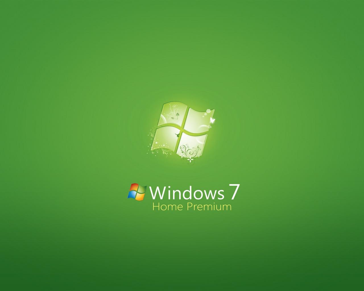 Windows 7のホームプレミアム 緑の背景 デスクトップの壁紙 1280x1024 壁紙をダウンロード Ja Hdwall365 Com