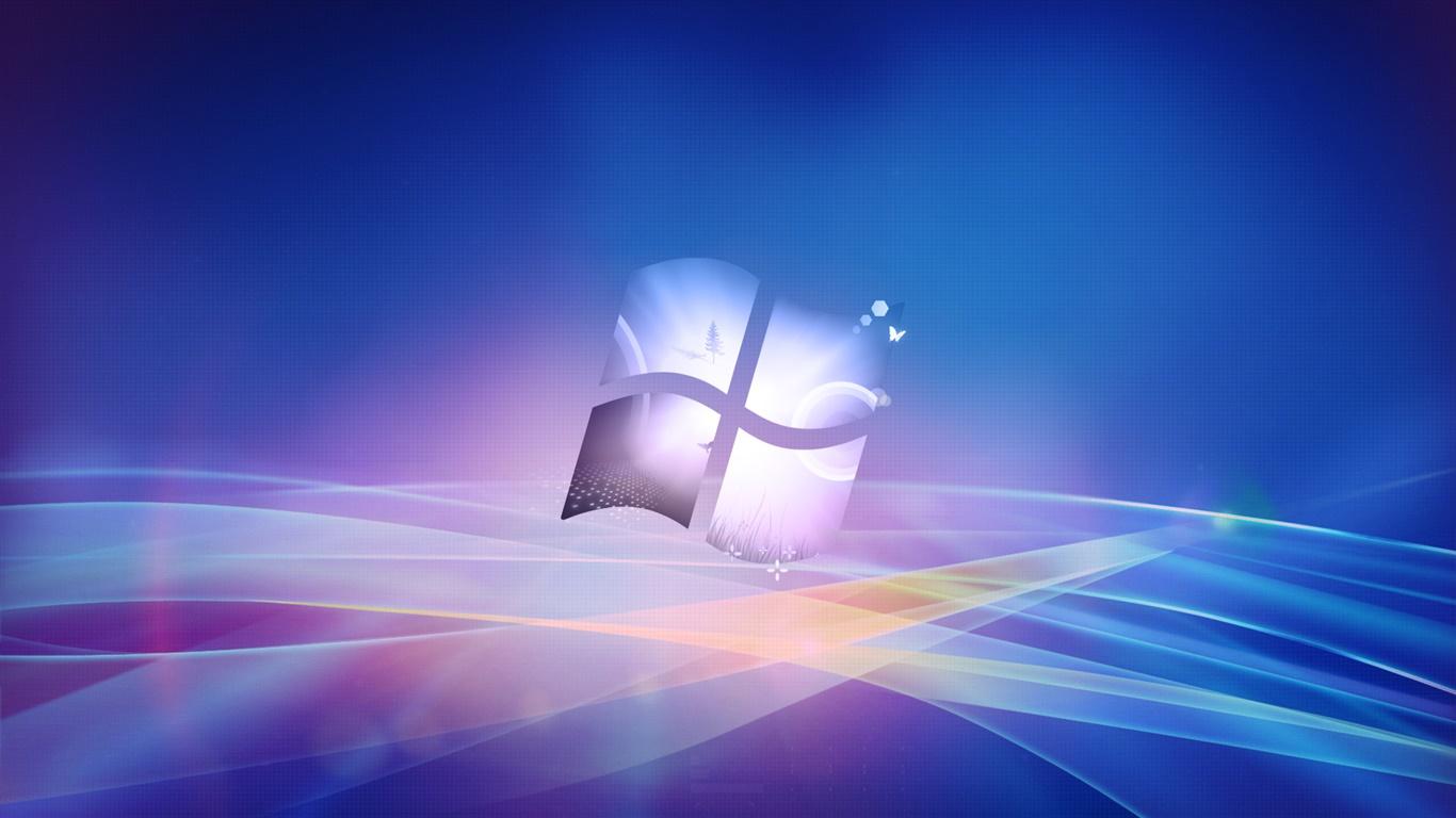 Windowsロゴ 創造的なデザインの背景 デスクトップの壁紙 1366x768 壁紙をダウンロード Ja Hdwall365 Com