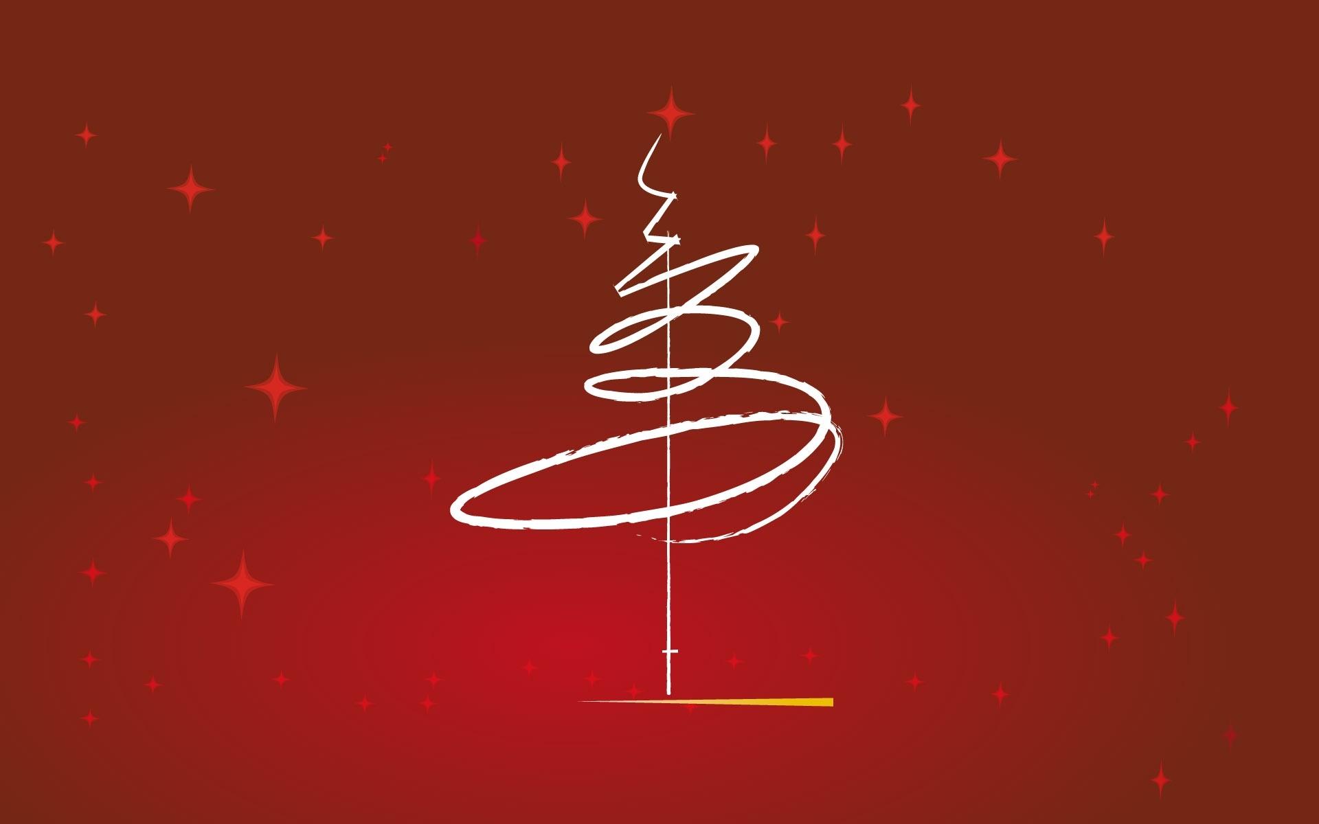 クリスマスをテーマに デザイン 木 シンプルなスタイル デスクトップの壁紙 1920x1200 壁紙をダウンロード Ja Hdwall365 Com