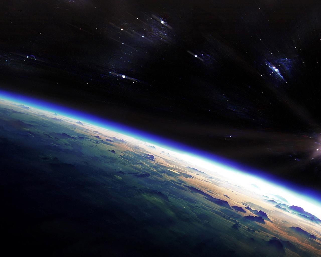 夜明け 星 宇宙 惑星 デスクトップの壁紙 1280x1024 壁紙をダウンロード Ja Hdwall365 Com